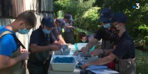 Pêches avec la Fédération de pêche du Haut-Rhin